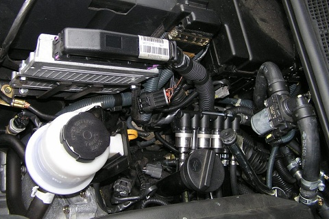 Nissan Titan přestavba lpg